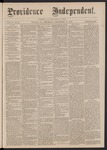 Providence Independent, V. 2, No. 15, Thursday, September 21, 1876 by Providence Independent