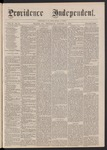 Providence Independent, V. 2, No. 17, Thursday, October 5, 1876