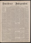 Providence Independent, V. 2, No. 18, Thursday, October 12, 1876 by Providence Independent