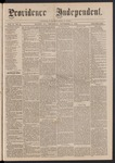 Providence Independent, V. 2, No. 21, Thursday, November 2, 1876 by Providence Independent