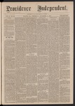 Providence Independent, V. 2, No. 22, Thursday, November 9, 1876 by Providence Independent