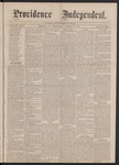 Providence Independent, V. 3, No. 9, Thursday, August 9, 1877 by Providence Independent
