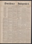 Providence Independent, V. 3, No. 10, Thursday, August 16, 1877 by Providence Independent