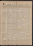 Providence Independent, V. 3, Thursday, September 13, 1877, [Whole Number: 117] by Providence Independent