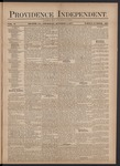 Providence Independent, V. 3, Thursday, October 4, 1877, [Whole Number: 120] by Providence Independent