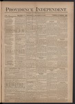 Providence Independent, V. 3, Thursday, October 18, 1877, [Whole Number: 122] by Providence Independent