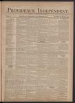 Providence Independent, V. 3, Thursday, October 25, 1877, [Whole Number: 123]