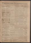 Providence Independent, V. 3, Thursday, November 22, 1877, [Whole Number: 127]