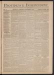 Providence Independent, V. 3, Thursday, December 6, 1877, [Whole Number: 129]