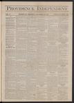 Providence Independent, V. 3, Thursday, December 13, 1877, [Whole Number: 130]