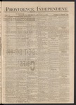 Providence Independent, V. 3, Thursday, January 31, 1878, [Whole Number: 136]