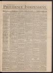 Providence Independent, V. 3, Thursday, February 21, 1878, [Whole Number: 139]