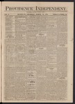 Providence Independent, V. 3, Thursday, March 14, 1878, [Whole Number: 142]