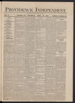 Providence Independent, V. 3, Thursday, April 25, 1878, [Whole Number: 148]