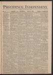 Providence Independent, V. 5, Thursday, July 3, 1879, [Whole Number: 212]