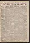 Providence Independent, V. 5, Thursday, October 16, 1879, [Whole Number: 227]