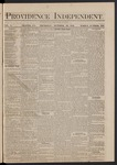 Providence Independent, V. 5, Thursday, October 30, 1879, [Whole Number: 229]