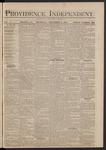 Providence Independent, V. 5, Thursday, November 6, 1879, [Whole Number: 230]