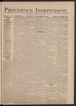 Providence Independent, V. 5, Thursday, December 4, 1879, [Whole Number: 234]