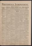 Providence Independent, V. 5, Thursday, December 11, 1879, [Whole Number: 235]