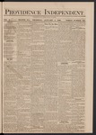 Providence Independent, V. 5, Thursday, January 1, 1880, [Whole Number: 238]