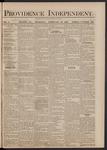 Providence Independent, V. 5, Thursday, February 12, 1880, [Whole Number: 244]
