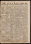 Providence Independent, V. 5, Thursday, April 22, 1880, [Whole Number: 254]