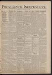 Providence Independent, V. 5, Thursday, June 3, 1880, [Whole Number: 260]