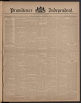 Providence Independent, V. 8, Thursday, August 31, 1882, [Whole Number: 377]
