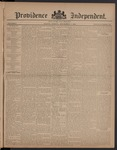 Providence Independent, V. 8, Thursday, September 7, 1882, [Whole Number: 378]