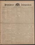 Providence Independent, V. 8, Thursday, September 14, 1882, [Whole Number: 379]