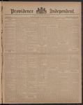 Providence Independent, V. 8, Thursday, September 21, 1882, [Whole Number: 380]