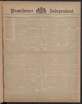Providence Independent, V. 8, Thursday, September 27, 1882, [Whole Number: 381]