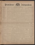 Providence Independent, V. 8, Thursday, October 12, 1882, [Whole Number: 383]