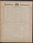 Providence Independent, V. 8, Thursday, November 9, 1882, [Whole Number: 387]