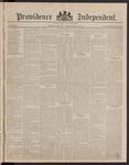 Providence Independent, V. 8, Thursday, November 30, 1882, [Whole Number: 390]