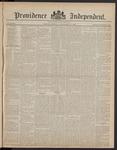 Providence Independent, V. 8, Thursday, December 14, 1882, [Whole Number: 392]
