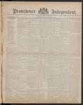 Providence Independent, V. 8, Thursday, December 21, 1882, [Whole Number: 393]
