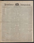 Providence Independent, V. 8, Thursday, January 4, 1883, [Whole Number: 395]