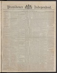 Providence Independent, V. 8, Thursday, January 25, 1883, [Whole Number: 398]