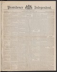 Providence Independent, V. 8, Thursday, February 1, 1883, [Whole Number: 399]