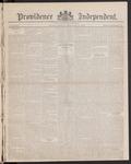 Providence Independent, V. 8, Thursday, February 15, 1883, [Whole Number: 401]