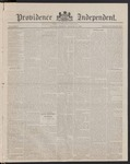 Providence Independent, V. 8, Thursday, March 8, 1883, [Whole Number: 404]