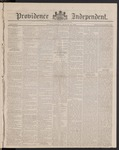 Providence Independent, V. 8, Thursday, March 15, 1883, [Whole Number: 405]