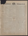 Providence Independent, V. 8, Thursday, April 19, 1883, [Whole Number: 409]