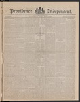 Providence Independent, V. 8, Thursday, May 17, 1883, [Whole Number: 413]