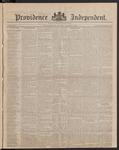 Providence Independent, V. 9, Thursday, June 14, 1883, [Whole Number: 417]