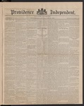 Providence Independent, V. 9, Thursday, June 21, 1883, [Whole Number: 418]