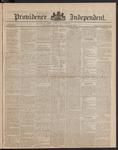 Providence Independent, V. 9, Thursday, June 28, 1883, [Whole Number: 419]