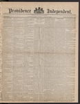 Providence Independent, V. 9, Thursday, July 19, 1883, [Whole Number: 422]
